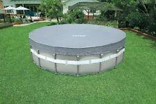 Copri piscina intex 28040 rotonda cm 488 ultra frame deluxe telo copertura rotex