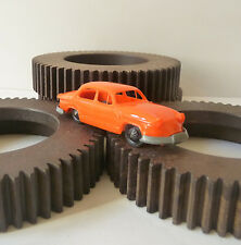 PANHARD PL17 Plastique orange ECF Crépieux French vintage advertising toy car