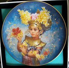 Mariani Festival Children Of The World Brenda Burke Collector Plate Doulton Vtg