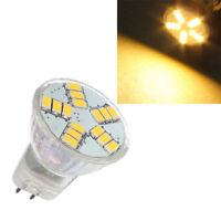 2X(MR11 4W G4 15 SMD 5630 LED Energy Saving Spotlight Ampoule 12V blanc chaud WT