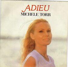 MICHELE TORR IADIEU / A MON PERE FRENCH 45 SINGLE