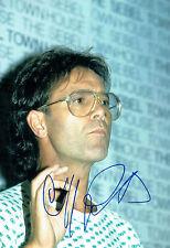 Cliff RICHARD SIGNED Autograph 12x8 Photo Music LEGEND AFTAL COA