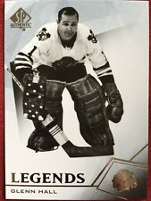2015-16 UD SP Authentic Hockey Legends Glenn Hall #103