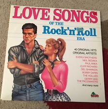 Love Songs Of The Rock 'n' Roll Era - 12' Double Vinyl LP Records