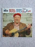 BURL IVES - Sings For Fun [Vinyl LP,1956] DL 8248