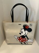 Kate Spade Disney Minnie Mouse Zip Tote Francis Tote Bag NWT Limited Edition