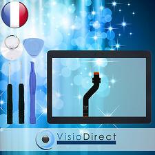 """Vitre ecran tactile pour Samsung Galaxy Tab 10.1""""P7500 P7510 noir+adhésif +outil"""