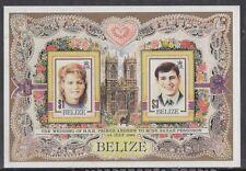 Belize 1986 Bf 73 Matrimonio Andrea e Sara  Mnh