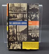 Vintage The Americana Annual (1964, Hardcover) Book R6