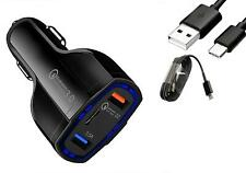 Fast Charge Car Charger Type-C Cable for Samsung Galaxy S20 S20 Plus S20 Ultra