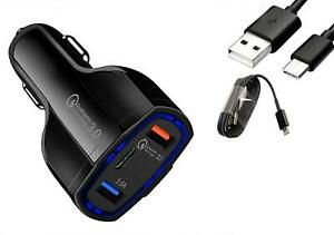Fast Charge Car Charger Type-C Cable for Samsung Galaxy Note 20 Note 20 Ultra