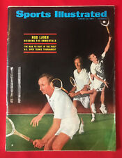 VINTAGE SPORTS ILLUSTRATED AUG 26TH 1968 ROD LAVER U.S. OPEN