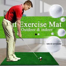PGM Indoor Outdoor Golf Swing Ball Mat Sports Golf Training Turf Mat Tee Holder