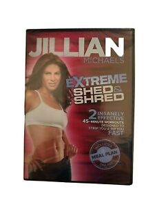 Jullian Michaels Workout Training DVD Videos Extreme Shed & Shred NEW SEALED