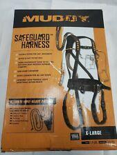 """Muddy Safeguard Harness Black Xl Msh400-Xl, 230-300lbs 44"""" Max Waist"""