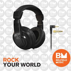 Behringer HPM-1100 Studio Headphones Black HPM1100 - Brand New - Belfield Music