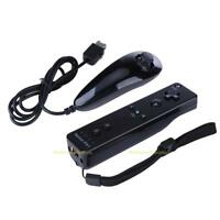 Built in Motion Plus Remote Nunchuck Controller Case Strap Set for Nintendo Wii