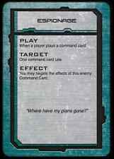 Hawk Wargames BNIB Dropfleet Commander UCM Command Cards HDF-10004C