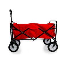 Heavy Duty Foldable Garden Trolley Cart Wagon