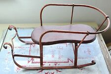 VINTAGE SLEDGE/ SLED/ SLEIGH TOY - OLD SMALL SNOW SLEDGE / SLED/ SLEIGH TOY