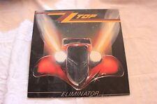 ALBUM 33 TOURS ZZ TOP ELIMINATOR 1983
