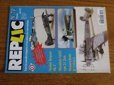 $$$ Revue Replic N°70 Hawker Tempest Mk VA6M2 type 21 ZeroMe Bf 110 G-4