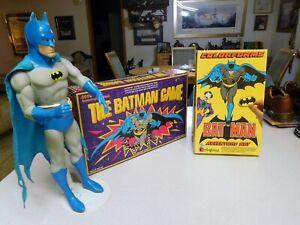 0935145184Batman Figure 1988/Colorforms Set-1989/Batman Game-1989