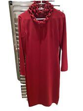 diane von furstenberg Giada Dress In Red Gorgeous Size 4 US