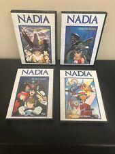 Nadia The Secret of Blue Water Set of 4 DVDs, Episodes 1-8, 9-12, 17-20
