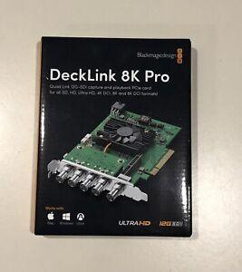 Blackmagic Design Decklink 8K Pro Cinema Capture Card