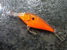New listing Vintage Mister Twister Sportfisher Minnow - Orange - 3 inch