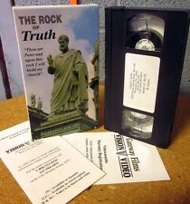 ROCK OF TRUTH Three Fountains documentary VHS history St. Paul beheading 1994