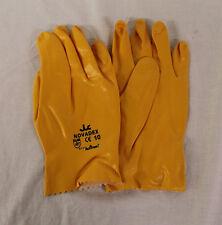 Nitrile Gants 12 Paires Taille 10 Novadex jaune/orange EN 388 Code 71-827