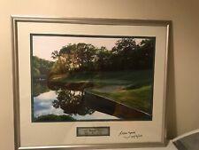 2003 Medinah Classic Hole 17 SIGNED & FRAMED IL - Rees Jones - PGA Golf Ryder Cp