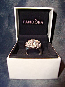 PANDORA CHERRY BLOSSOM BOUQUET 925 RING * Size 5  NEW WITH BOX!