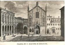 PIAZZA DI S. GIACOMO IN BOLOGNA...Ediz. Cartovendita - Via Galliera 14 - Bologna
