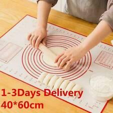 Pro Silicone Non-stick Roll Pad Cake Dough Mat Pastry Clay Fondant Baking Mat XL