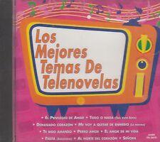 Mijares Raine Miller Willie Colon Los Mejores Temas De Telenovelas CD New Sealed