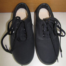 VANS Black Skate Shoes US SIze 4 Off the Wall Unisex