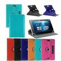 "Universal Leather Case Cover For  7"" 8'' 9'' 10'' Tablet With 360 Rotating Stand"