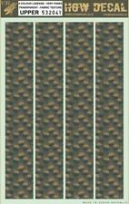 HGW 1:32 4 Color Lozenge Faded Transparent Fabric Texture Upper Decal #532041