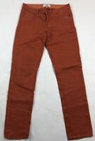 PAIGE Womens Pants Jeans Skinny Orange Denim Size 27 Skyline Ankle Peg Stretch
