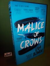 LILA BOWEN THE SHADOW: MALICE OF CROWS FIRST UK PAPERBACK EDITION NEW AND UNREAD
