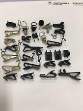 Gran Lote De 28 accesorios de micrófono de solapa X (Sennheiser, Sanken, DPA Etc)