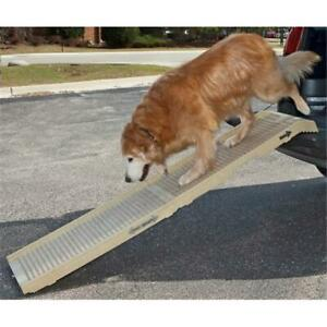 PetSTEP International Original Folding Pet Ramp in Khaki-Tan