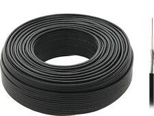 20 m Koaxialkabel RG-174 / 50Ohm Kupfer /  7x0,16 Cu / Strang