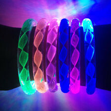 Fashion LED Colorful Light Glow Wristband Bracelet Disco Night Party Dance Bar