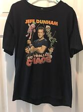 Jeff Dunham Controlled Chaos Tour 2012 Shirt Size Large