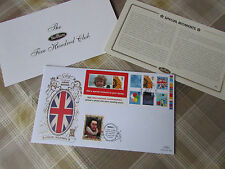 Union Great BRITAIN Special Moments BENHAM Gold 500 Club FDC / First Day Cover
