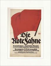 Die Rote Fahne Spartakus Bund Partei Zeitung Alfred Stiller Plakatwelt 1224